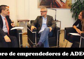 Foro de emprendedores de ADEGI. Charla con Josean Rodríguez