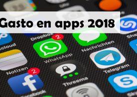 El gasto mundial en aplicaciones móviles, por encima de 100.000 millones de dólares en 2018
