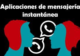 Aplicaciones de mensajería instantánea, indispensables para los españoles