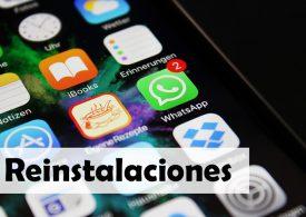 La mitad de las instalaciones de apps son en realidad reinstalaciones