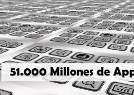 51.000 millones de apps descargadas en el primer semestre