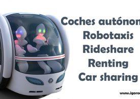 Renting de coches autónomos: Robotaxis, Mitsubishi i Miev y rideshare