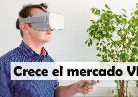El mercado de las gafas de realidad virtual vuelve a crecer