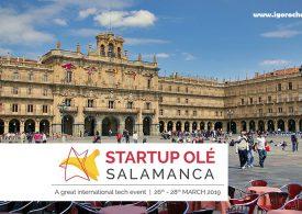 Startup Olé 2019, encuentro internacional de startups en Salamanca