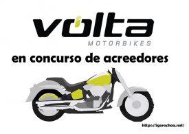 El fabricante de motos eléctricas Volta Motorbikes, a concurso de acreedores