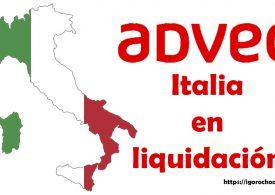 Últimas noticias de Adveo. Su filial italiana entra en la fase de liquidación