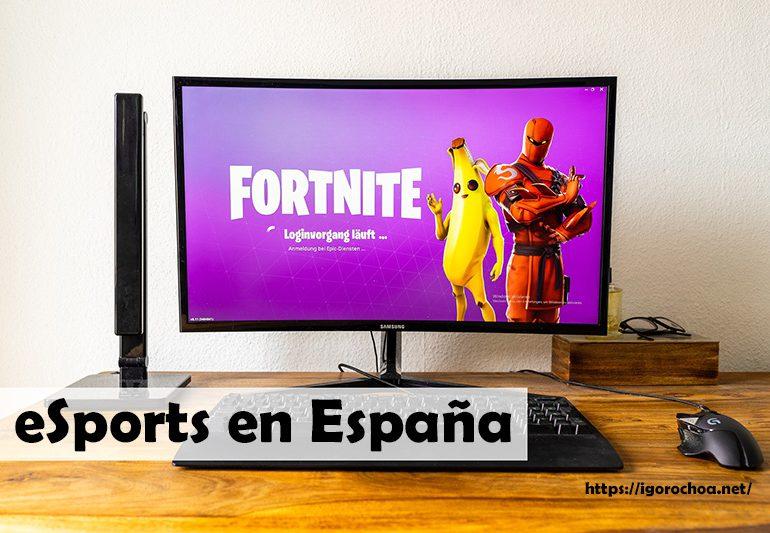 Situación de los deportes electrónicos o eSports en España
