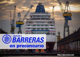 Astillero Barreras: Últimas noticias sobre su preconcurso