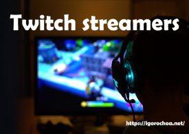Twitch streamers: Retransmitiendo en directo