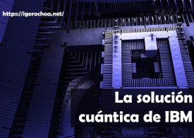 IBM Q System One: el ordenador cuántico de IBM