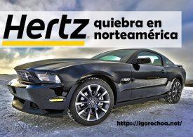 La empresa de alquiler de coches Hertz quiebra