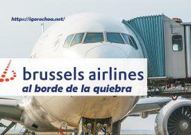 Brussels Airlines, otra aerolínea al borde de la quiebra