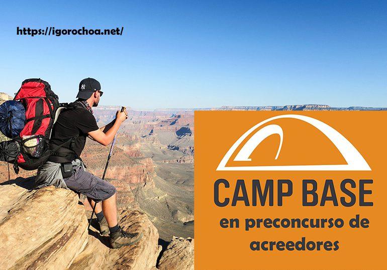 Camp Base se encuentra en preconcurso de acreedores