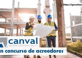 Canval se declara en concurso de acreedores