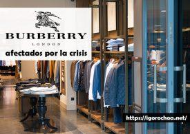 La empresa de moda Burberry, en crisis