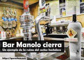 El mítico Bar Manolo de Sevilla echa el cierre definitivo