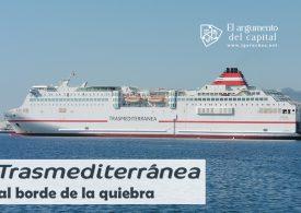 La naviera Transmediterránea, al borde de la quiebra