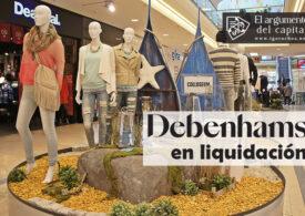 Los grandes almacenes Debenhams, en liquidación