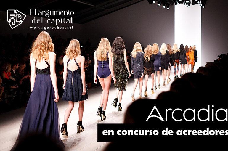 El grupo de moda Arcadia entra en concurso de acreedores