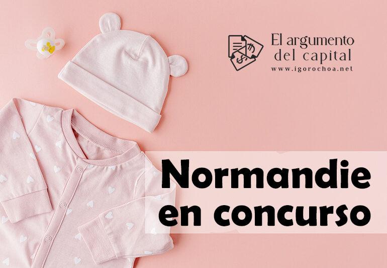 La empresa de ropa infantil Normandie, en concurso de acreedores
