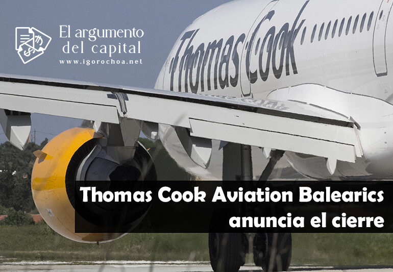 Thomas Cook Aviation Balearics anuncia el cierre