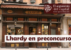 El restaurante Lhardy de Madrid, en preconcurso de acreedores
