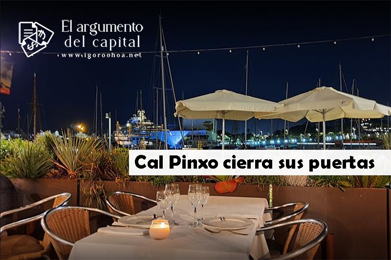 El restaurante barcelonés Cal Pinxo cierra sus puertas