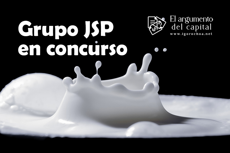 El grupo industrial JSP, en concurso de acreedores
