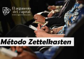 Método Zettelkasten: notas con ideas únicas