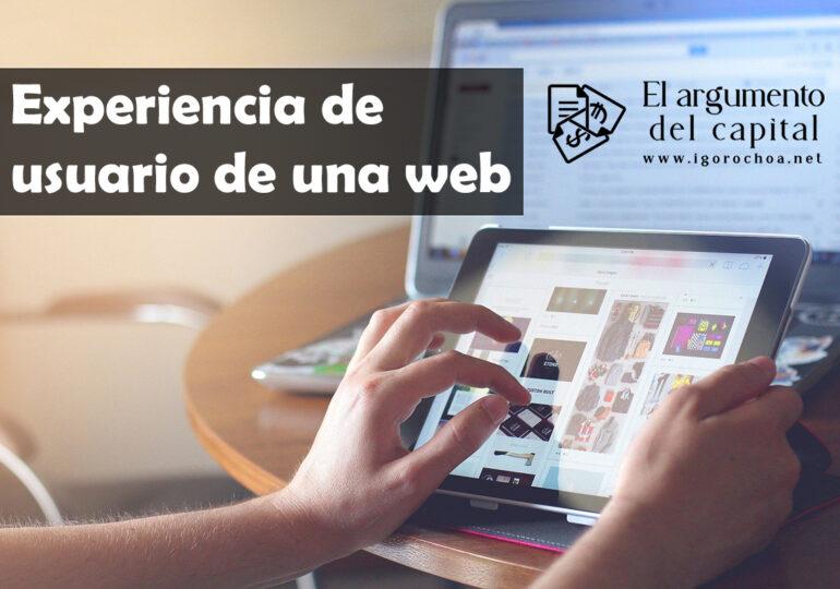 Cómo mejorar la experiencia de usuario de una web