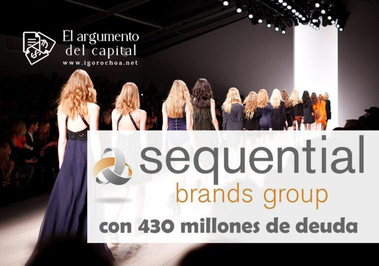 Sequential Brands, en concurso de acreedores
