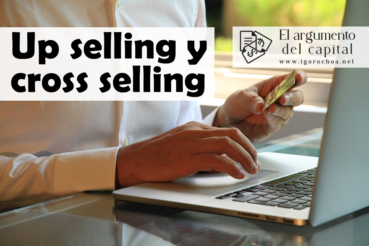 Diferencias entre up selling y cross selling