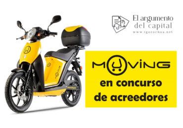 La empresa de motosharing Muving entra en concurso de acreedores