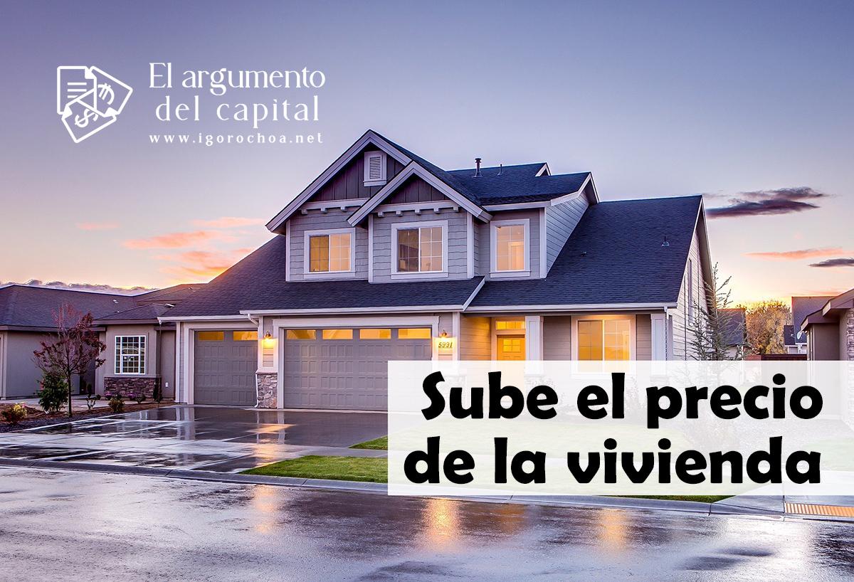 El precio de la vivienda alcanza valores de 2019